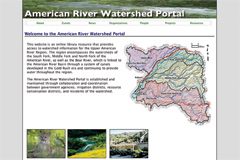 american river watershed library